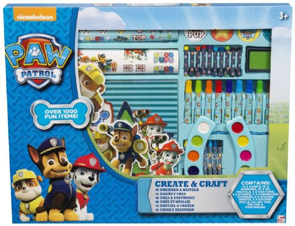 Giant 106 Piece Paw Patrol Create and Craft